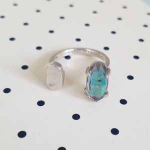 Kendra Scott Pryde Ring in Dichroic Glass